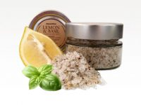 Lemon & Basil Gozitan Sea Salt