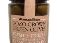 Gozo Grown Green Olives